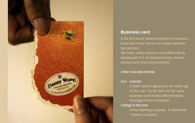 Business Card width=