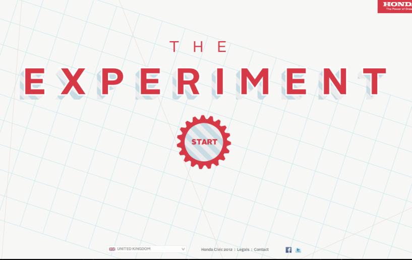 Honda : The Experiment width=