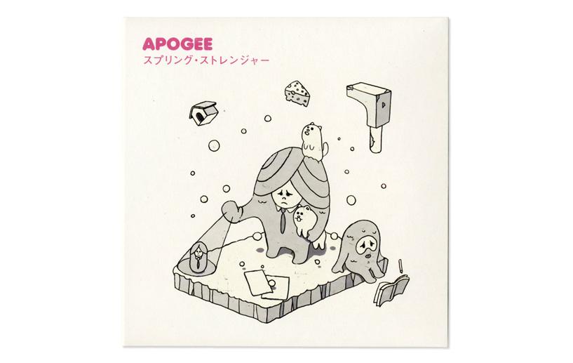 APOGEE CDジャケット「スプリング・ストレンジャー」 width=