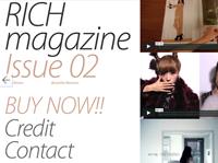 RICH magazine issue 2: beautiful moment