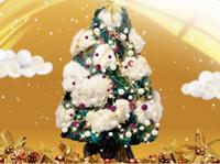 ELM クリスマスツリーにLEDのあかりを灯そう