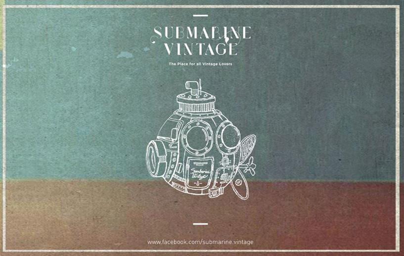 Submarine Vintage width=