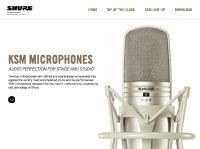 Shure KSM Microphones